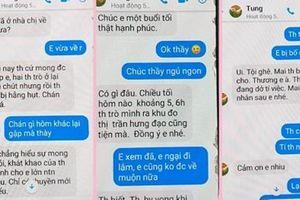 Điều chuyển thầy giáo nhắn tin với nội dung nhạy cảm cho nữ sinh