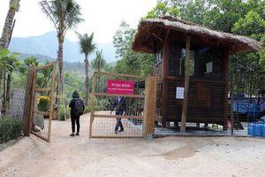 Khu nghỉ dưỡng không phép mọc trong rừng phòng hộ Quảng Nam