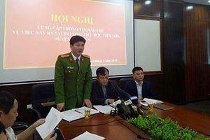 Họp báo thầy giáo 'sàm sỡ' hàng chục nữ sinh Bắc Giang: Không dâm ô?