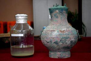 Bí mật 'thuốc trường sinh' đựng trong bình cổ 2.000 năm ở Trung Quốc