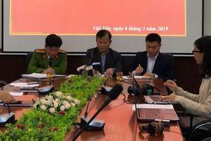 Công an Việt Yên: Chưa đủ căn cứ chứng minh thầy giáo dâm ô 15 học sinh tiểu học