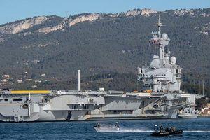 Lý do Pháp cử hàng không mẫu hạm duy nhất tới Địa Trung Hải