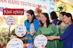 Quảng Bình: Các đặc sản quy tụ tại Ngày hội 'Phụ nữ sáng tạo - khởi nghiệp' 2019