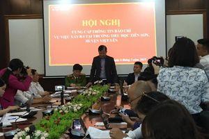 Phản hồi vụ nghi thầy giáo dâm ô nhiều học sinh tại Bắc Giang