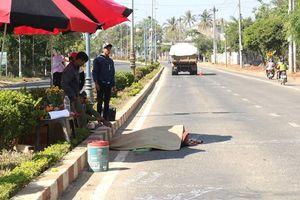 Đắk Lắk: Người đàn ông đi bộ qua đường bị xe ben cán tử vong