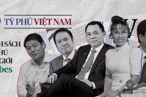 Lần đầu tiên Forbes công nhận Việt Nam có 5 tỷ phú USD
