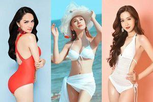Vẻ nóng bỏng của 3 mỹ nhân chuyển giới Hương Giang - Nhật Hà - Lâm Khánh Chi khi đọ dáng với bikini
