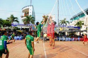 Sân chơi thể thao trong Lễ hội văn hóa truyền thống huyện Châu Phú