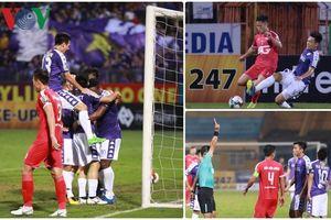 Toàn cảnh: Thi đấu với 10 người, Hà Nội FC vẫn đánh bại Viettel