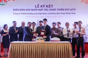 Trang thương mại điện tử Fayfay ký kết hợp tác phát triển du lịch với Thừa Thiên Huế