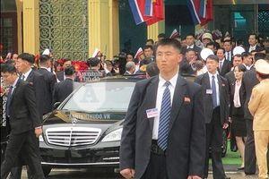 Giải mã chiến thuật của vệ sĩ Triều Tiên khi bảo vệ Chủ tịch Kim Jong-un