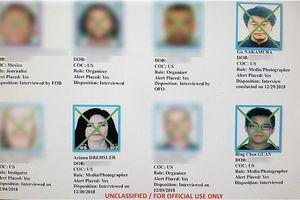 Mỹ lập danh sách các phóng viên, luật sư, nhà hoạt động để thẩm vấn tại biên giới