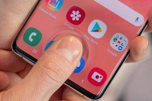 Thử vân tay siêu âm của Galaxy S10 - mở nhanh, dùng cả khi tay ướt