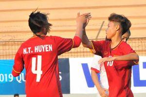 U16 nữ Việt Nam giành vé tham dự giải châu Á