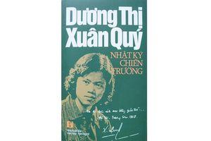 Giới thiệu nhật ký chiến trường của Dương Thị Xuân Quý