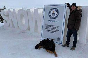 Mê cung tuyết lớn nhất thế giới