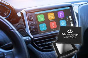 Vi mạch USB 3.1 SmartHub hỗ trợ Type-C đầu tiên đạt tiêu chuẩn dành cho ô tô