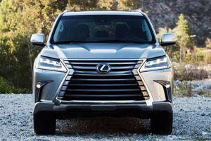 Bảng giá xe Lexus mới nhất tháng 3/2019: Chuyên cơ mặt đất' Lexus LX570 tăng tới 370 triệu đồng