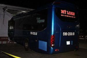 Khởi tố phụ xe nổ máy làm ô tô khách lao vào nhà chờ khiến 6 người thương vong