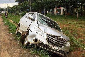 Trung tá lái ô tô đâm chết người được luân chuyển về làm trưởng công an huyện