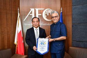 Chủ tịch AFC dành lời có cánh cho bóng đá Việt Nam