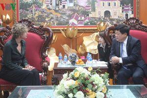Tổng Giám đốc VOV tiếp Đại sứ Hà Lan tại Việt Nam Elsbeth Akkerman