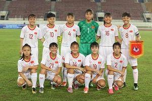 U16 nữ Việt Nam giành vé lịch sử dự VCK U16 nữ châu Á