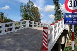 Phó chủ tịch xã bất ngờ về cây cầu mang tên mình