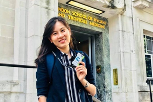 Nữ tiến sĩ Việt say mê sáng chế