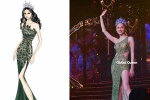 Hương Giang 'gây bão' khi hé lộ váy mặc chung kết Miss Int' Queen, đâu sẽ là chiếc đầm được chọn?