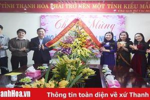 Các đồng chí lãnh đạo tỉnh chúc mừng Hội LHPN tỉnh nhân Ngày Quốc tế Phụ nữ 8-3