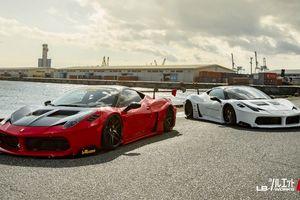 Liberty Walk trình làng siêu phẩm Ferrari 'sinh đôi' dù bản độ khác nhau