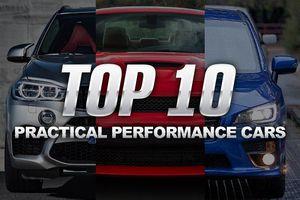 Top 10 chiếc xe hiệu suất cao phù hợp cho nhiều người