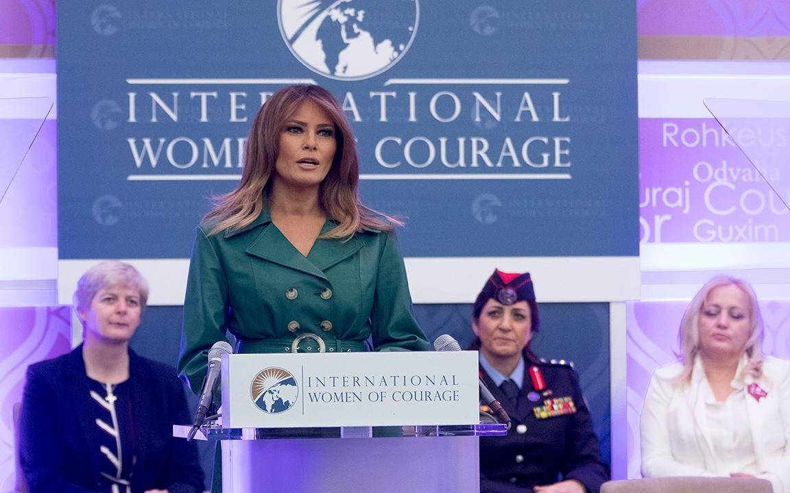 Thông điệp Đệ nhất phu nhân Mỹ gửi tới phụ nữ trên thế giới
