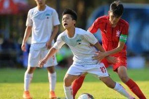 Vì sao 'Siêu nhân' Trần Gia Huy không ra sân cùng U19 HAGL?