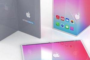 iPad 'màn gập' có thể có hình dáng ra sao