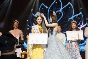 Giọng ca Sao Mai 2017 Tuyết Nga đăng quang Hoa hậu Áo dài Việt Nam 2019