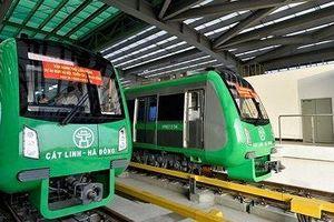 Đường sắt Cát Linh - Hà Đông những ngày 'nước rút'