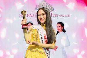 Giọng ca Sao Mai đăng quang Hoa hậu áo dài Việt Nam 2019