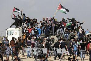 Đụng độ giữa người biểu tình Palestine tại Dải Gaza và binh sĩ Israel, hàng chục người thương vong