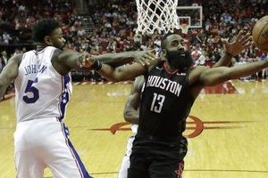 James Harden ghi Double-double trong chiến thắng thứ 7 liên tiếp của Houston Rockets