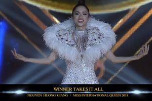 Hé lộ lí do 'trùm cuối' Hương Giang hát nhép và lời giải về 'Winner Takes It All' trước lúc trao vương miện