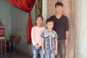 Mẹ bỏ đi biệt tích, ba trẻ bơ vơ sau bố mất vì tai nạn