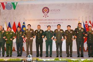 Hội nghị Tư lệnh Quốc phòng các nước ASEAN lần thứ 16 tại Thái Lan