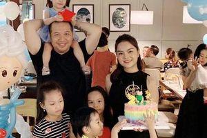 Phạm Quỳnh Anh và Quang Huy tái hợp trong sinh nhật của con gái