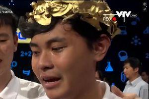 Thí sinh bật khóc vì dừng chân ở cuộc thi quý 'Đường lên đỉnh Olympia'
