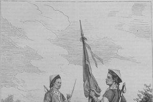 Tuyển tráng sĩ, luyện quân, tập trận đồ thời xưa