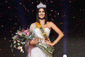 Khoảnh khắc đăng quang của Tân Hoa hậu Hoàn vũ Brazil 2019