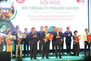Hội nghị xúc tiến đầu tư tỉnh Đắk Lắk 2019: Thu hút đầu tư hơn 71.000 tỷ đồng