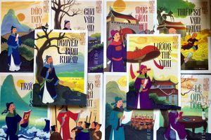 Ra mắt bộ truyện tranh Hiền tài nước Việt